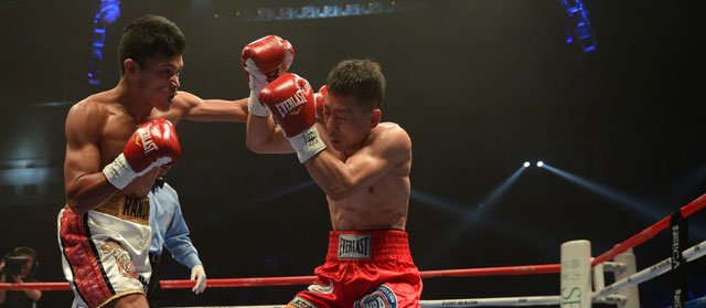 Petalcorin defends his title in Beijing