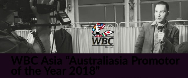Australiasia Promotor of the Year 2018