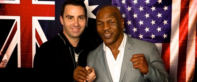 Meeting Boxing Legends